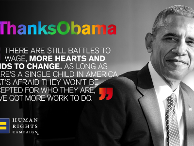 #ThanksObama: 22 Important Moments for LGBTQ Progress