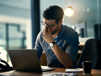 More Men Suffer Work Related Mental Health Problems